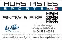 Ski rental shop(s) Hors Pistes Sports