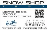 Ski rental shop(s) Snowshop 1850